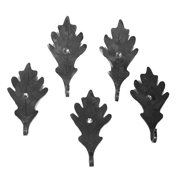 Single Oak Leaf (Set of 5)