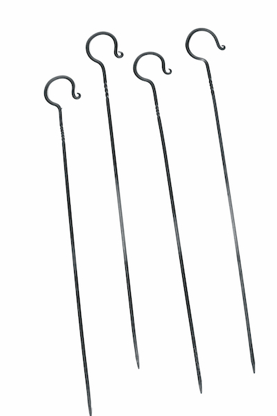 Set of 4 BBQ Skewers