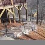 Branch Stone Steps - Black Mountain Iron