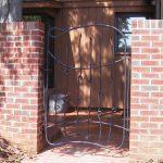 Courtyard Gate - Black Mountain Iron