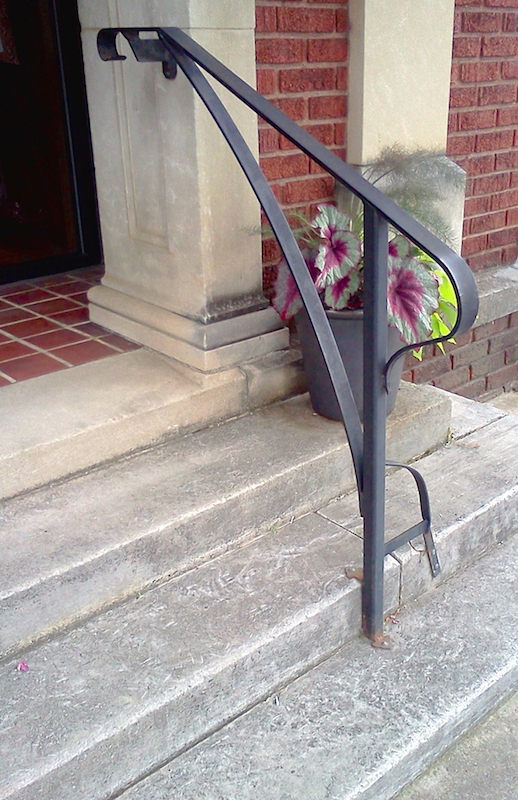 Handrails and Railings - Black Mountain Iron Works