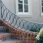 Exterior Rail Geometric - Black Mountain Iron