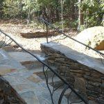 Exterior Rail Wavy - Black Mountain Iron