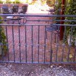 Patio Gate - Black Mountain Iron