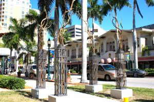 Public Art - Sarasota, FL - Black Mountain Iron, NC