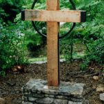 St. James Garden Memorial Cross - Black Mountain Iron