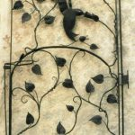 Vine Hummer Gate - Black Mountain Iron