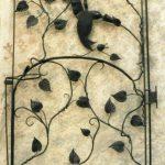 Vine Hummer Gate - Black Mountain Iron